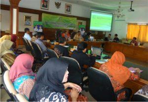 Rapat Koordinasi (Rakor) Kualitas Air Minum di Off Room Kantor Pemerintah Kota Sukabumi,