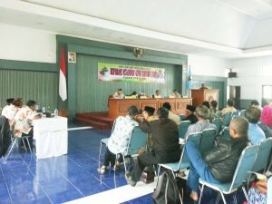 Suasana RAT Koperasi KGS, Sabtu (25/2).