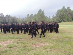 Peserta diklat Persatuan Anti Gangguan Regional (PAGAR) Jawa Barat angkatan ke V diikuti oleh 250 peserta. -- foto: Lee