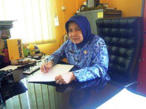 Kepala Bidang PAUD dan PNFI Disdik Kab. Bandung Dra. H. Mieka Saptawati