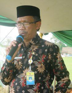 Kepala Bidang TK, SD dan Non Formal Disdik Kab.  Bandung H.  Maman Sudrajat MM. Pd.