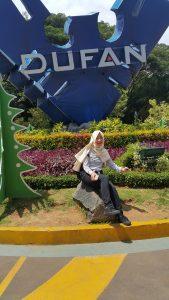 Salah satu sudut rekreasi di Dufan Ancol.