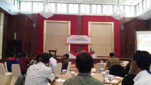 Rapat koordinasi pengawasan partisipatif dalam rangka Pemilihan umum DPR-RI, DPD dan DPRD Tahun 2019, di Hotel Sutan Raja, Soreang, Kabupaten Bandung, Rabu (6/12/17).
