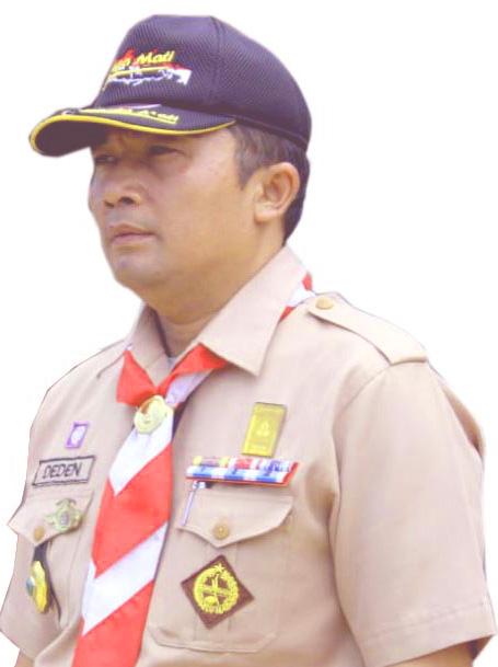 Deden Sumpena, Sekretaris Kwarcab Pramuka Kab. Sukabumi