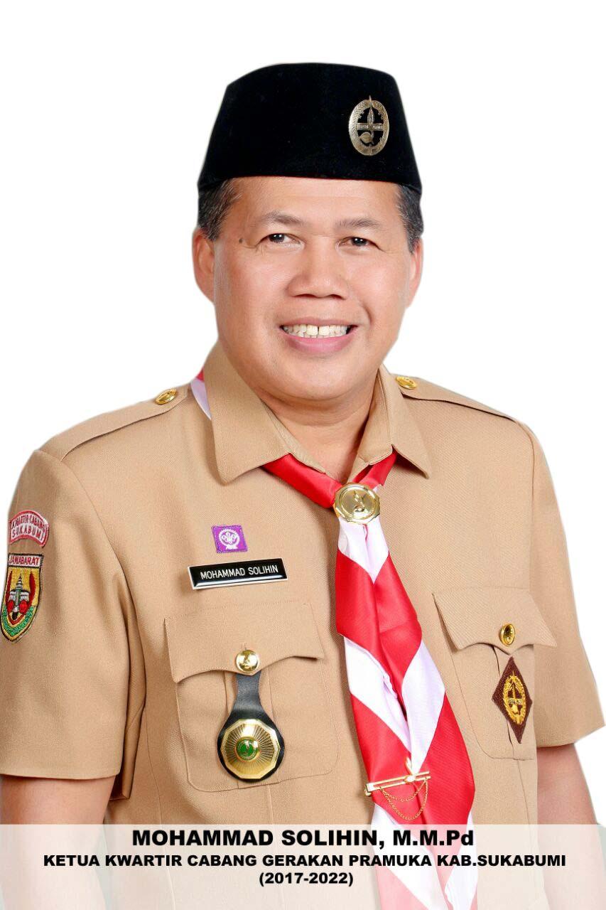 M. Solihin, Ketua Kwarcab Kab. Sukabumi