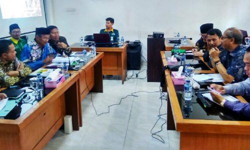 Komisi IV DPRD Kab. Sukabumi dan Baznas Raker Soal ZIS