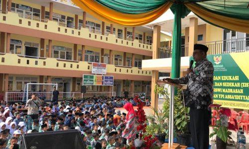 Baznas Cianjur Sosialisasikan ZIS kepada Siswa Madrasah dan Sekolah