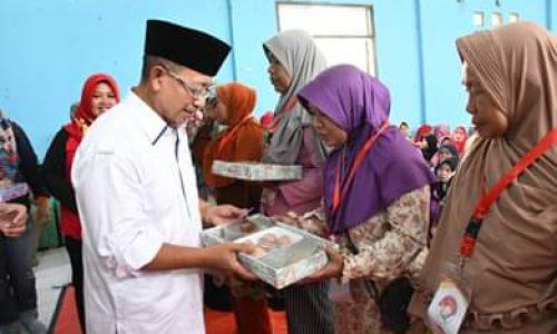 Plt Bupati Cianjur Sebut  Bansos Sembako Warga Miskin Naik Menjadi Rp150 Ribu/Bulan