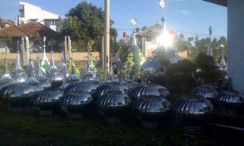 Bisnis Kubah Masjid pun Terimbas Korona