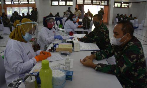 Donor Darah Warnai Peringatan Hari Bakti TNI AU ke-73 di Bandung