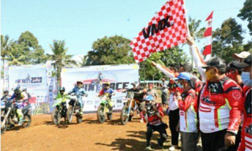 Kabupaten Sukabumi Gelar Motocross Spesial Rayakan HUT RI ke-75