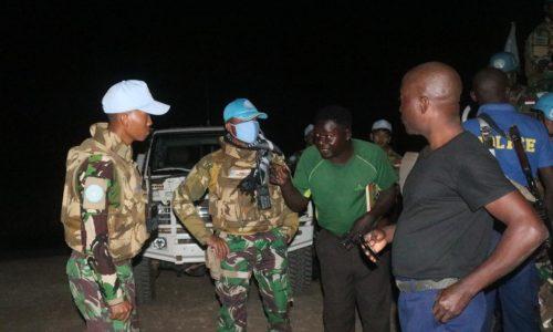 Prajurit TNI Bebaskan Dokter Amerika dari Sekapan Bandit Kongo