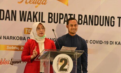 Debat Kandidat 3 Pilbup Bandung: Yena-Atep Siap Kucurkan Stimulus Bagi Pelaku UMKM