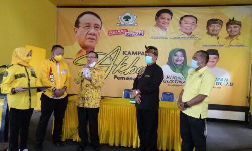 Akbar Tanjung Hadiri Kampanye Akbar Cabup Bandung