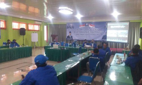Musda Partai Amanat Nasional Kabupaten Bandung Hasilkan 5 Formatur