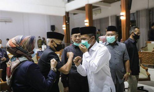 Semua Fraksi di DPRD Hadiri Rapat Usulan Pelantikan Calon Bupati dan Wakil Bupati Bandung Terpilih