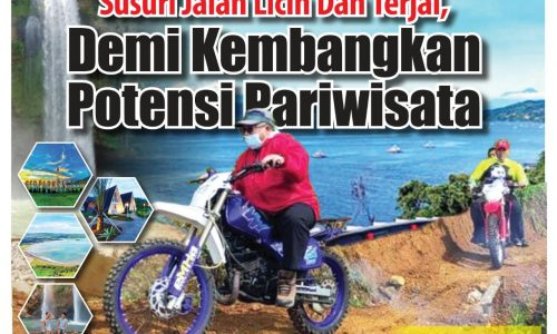 Ketika Bupati Sukabumi Survey Lapangan Terkait Rencana Pembangunan Jembatan dan Jalan