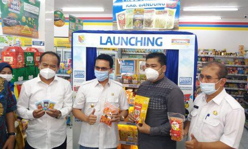 18 Produk UMKM Kabupaten Bandung Resmi Masuk Minimarket