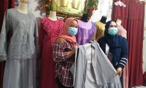 Berkah Ramadhan: Busana Dress Lagi Tren, Pengrajin di Ciburial Kebanjiran Order