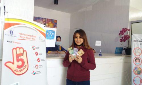 Tujuh Hari Jelang Lebaran, Warga Tukarkan Uang Baru ke BPR Kerta Raharja Capai Rp3 Miliar