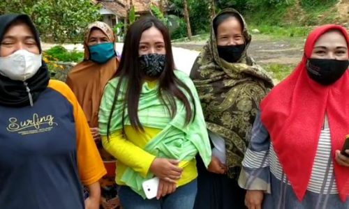 Warga Ciandam Mulai Nikmati Hasil Pembangunan  TMMD Kodim Cianjur