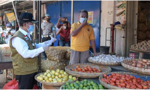 Bupati Sidak Harga Jelang Idul Adha, Pedagang Pasar Induk Cianjur Minta PPKM Darurat Ditinjau Ulang