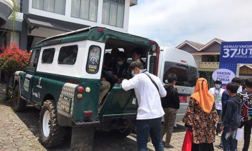Supaya Capai Realisasi Maksimal, PT GeoDipa Antar Jemput Warga 3 Desa Ikuti Program Sentra Vaksinasi Untuk Negeri